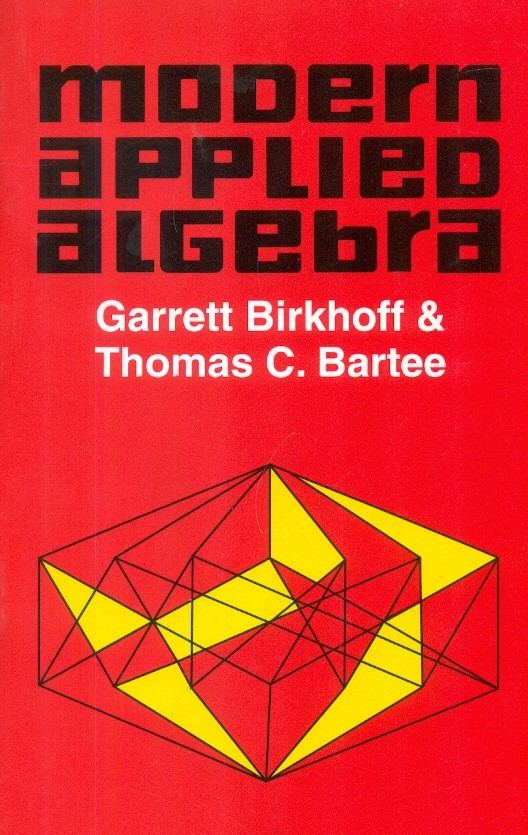 Modern Applied Algebra (Pb 1999)