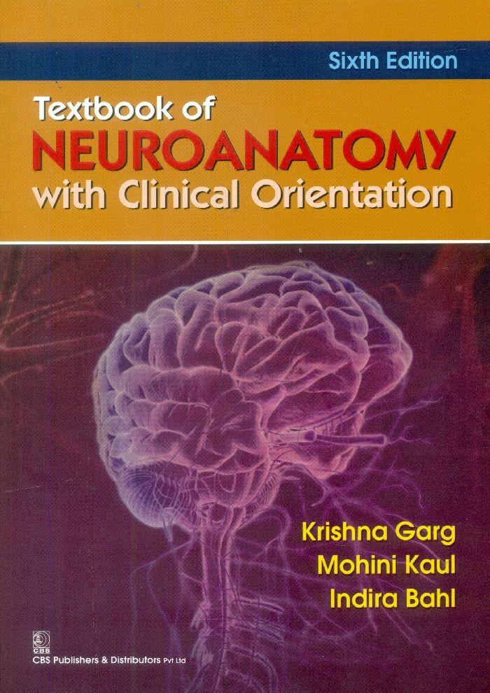 Textbook Of Neuroanatomy With Clinicalorientation, 6E (Pb 2015)