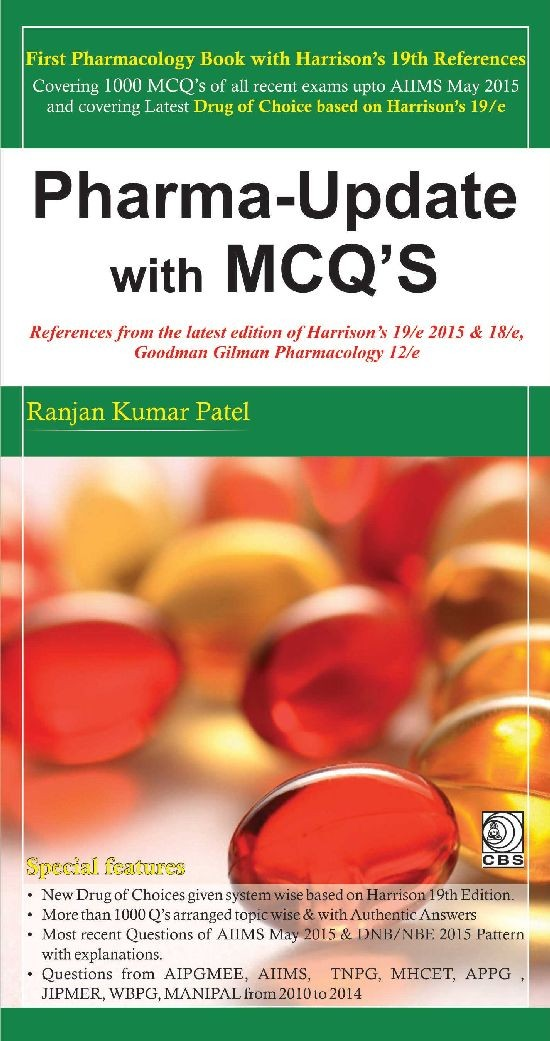 Pharma Update With Mcq's (Pb 2016)