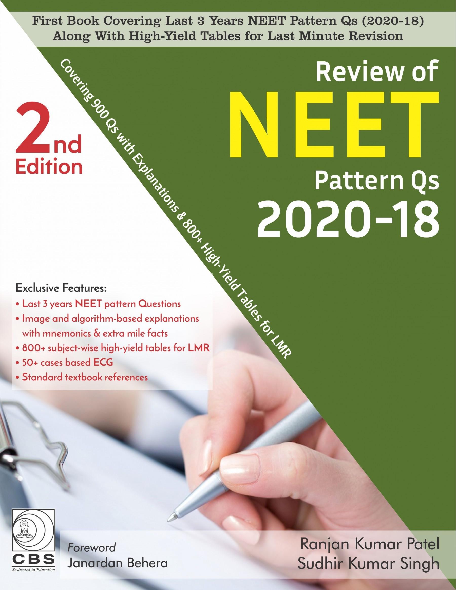 Review of NEET Pattern Qs 2020-18-9788194578369-Ranjan Kumar Patel Sudhir Kumar Singh
