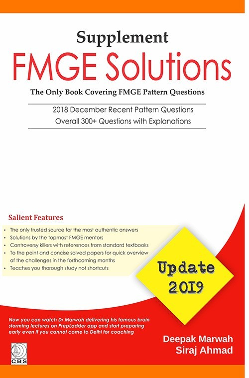 FMGE Solutions-Update-2019 (Supplement)