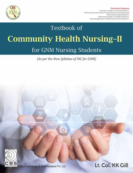 Textbook of Community Health Nursing-II for GNM Nursing Students