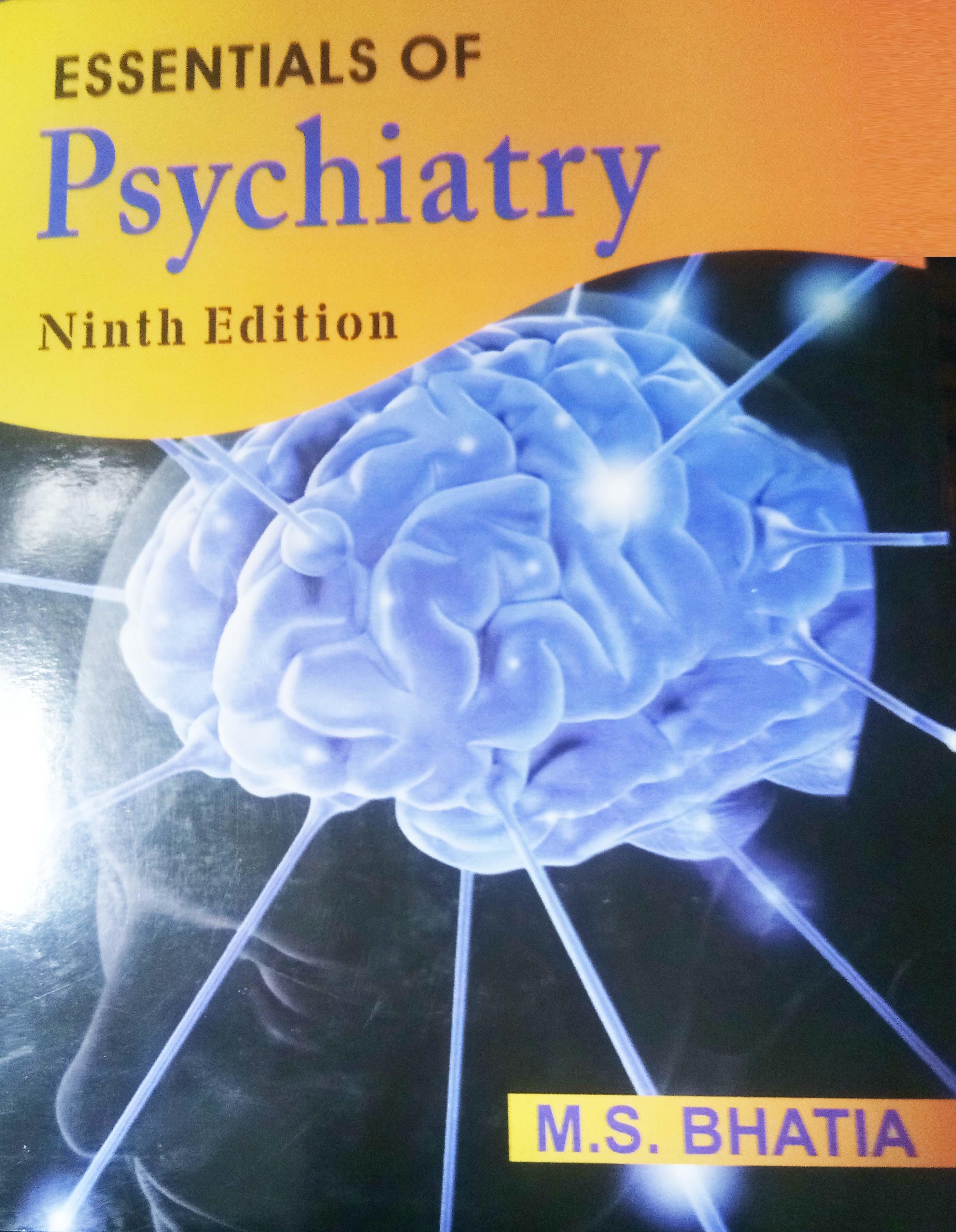 ESSENTIALS OF PSYCHIATRY 9ED (PB 2019)