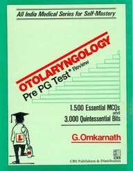 Otolaryngology Pre Pg Test Review