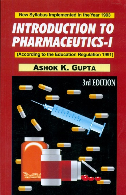 Introduction To Pharmaceutics-I 3Ed