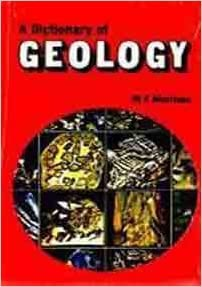 A Dictionary Of Geology