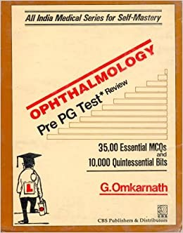 Ophthalmology Pre Pg Test Review