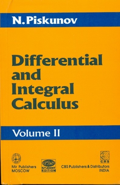 Differential And Integral Calculus, Vol 2 (Pb)