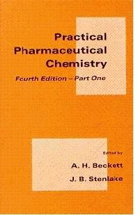 Practical Pharmaceutical Chemistry Part 1
