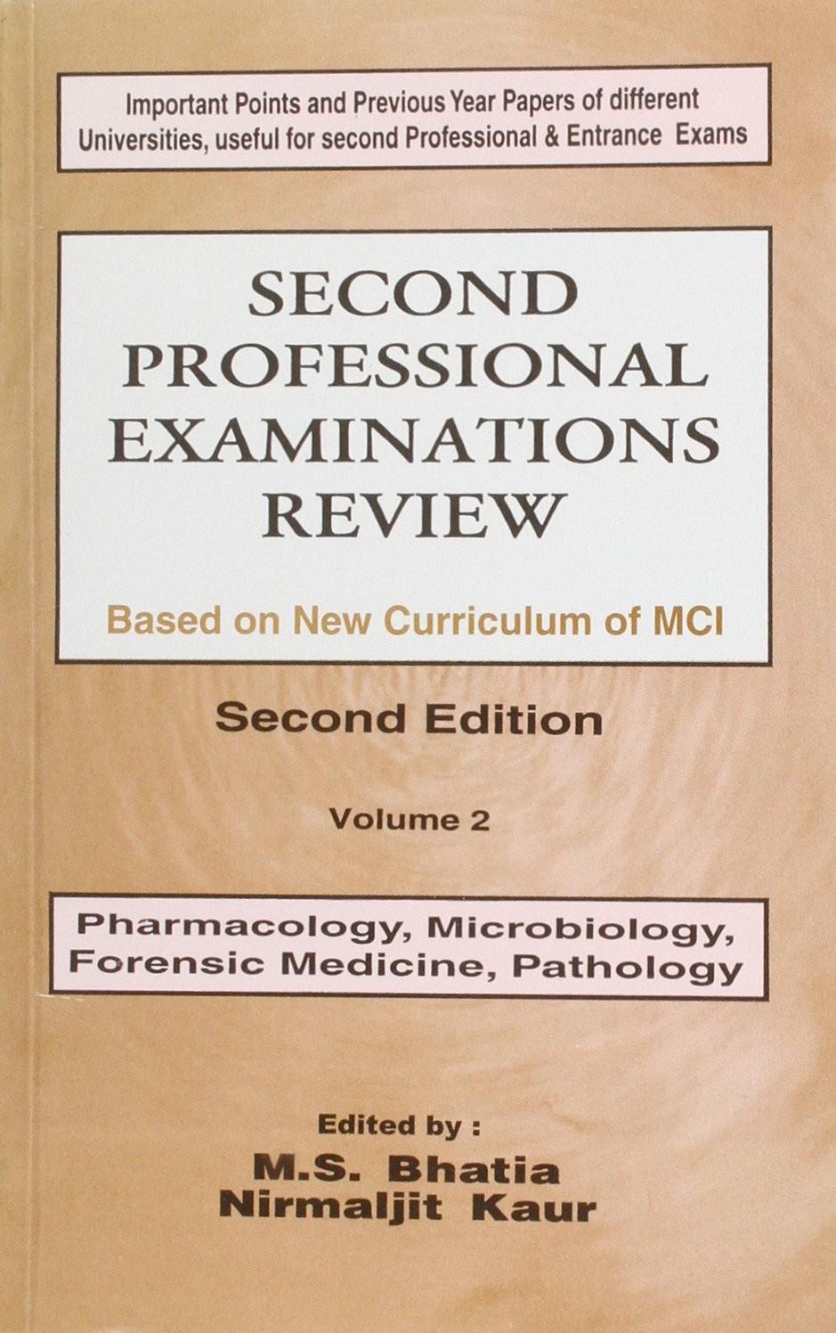 Second Professional Examination Review, 2E, Vol 2