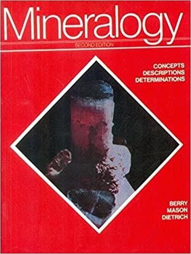 Mineralogy, 2E (Pb)