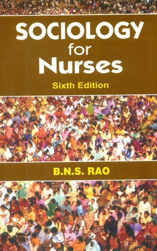 Sociology For Nurses,6/E (Pb-2014)