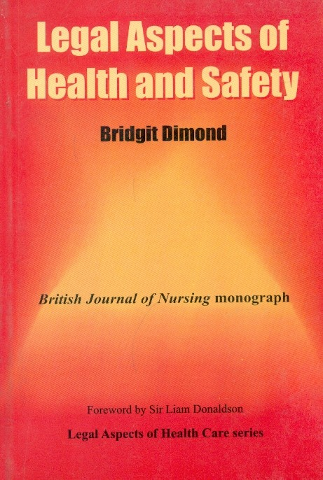 Legal Aspects Of Health And Safety