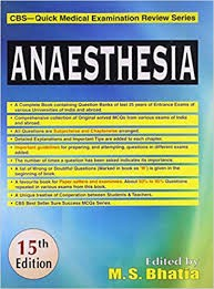 Anaesthesia: Cbs Quick Medical Examination Review Series