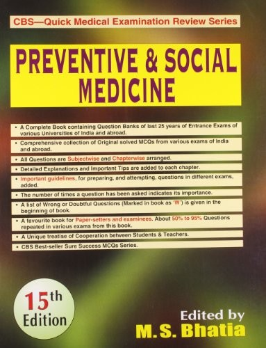 Preventive And Social Medicine, 15 Ed