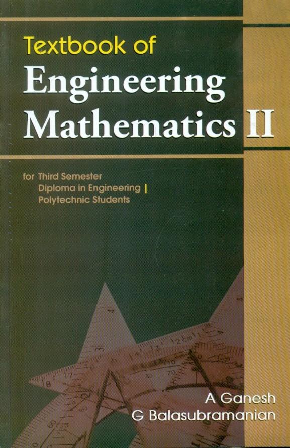 Textbook Of Engineering Mathematics- Ii