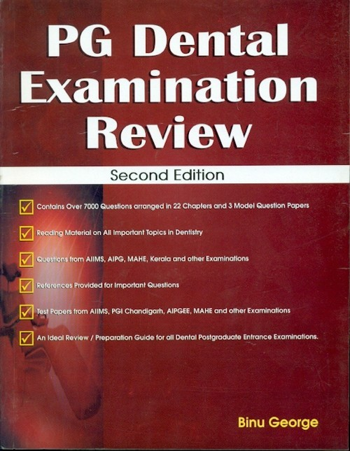 Pg Dental Examination Review, 2E