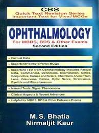 Ophthalmology For  Mbbs, Bds & Other Exams, 2/E-Cbs Quick Text  Revision Series Important Text For Viva / Mcqs