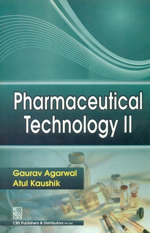 Pharmaceutical Technology II, (2nd reprint)