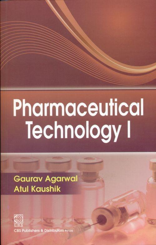 Pharmaceutical Technology I (Pb 2017)
