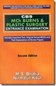 Cbs Mch Burns & Plastic Surgery Entrance Examination ,2E (Pb-2014)