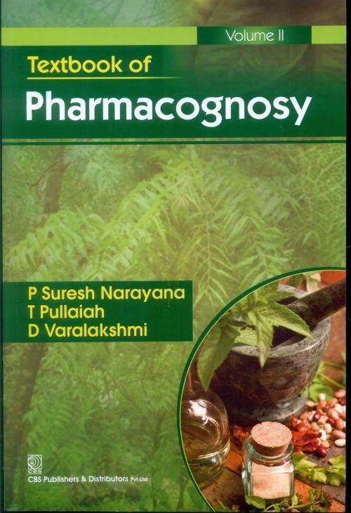Textbook Of Pharmacognosy, Vol. 2 (Pb-2014)