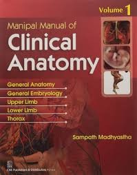 Manipal Manual Of Clinical Anatomy Vol 1  (Pb 2016)