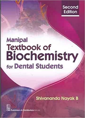 Manipal Textbook Of Biochemistry For Dental Students, 2E (Pb 2015)