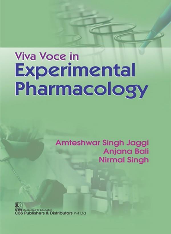 Viva Voce in Experimental Pharmacology (3rd Reprint)