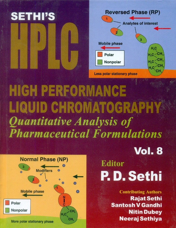 Sethi's High Performance Liquid Chromatography Quantitative Analysis Of Pharmaceutical Formulations Vol.8 (Hb 2015)