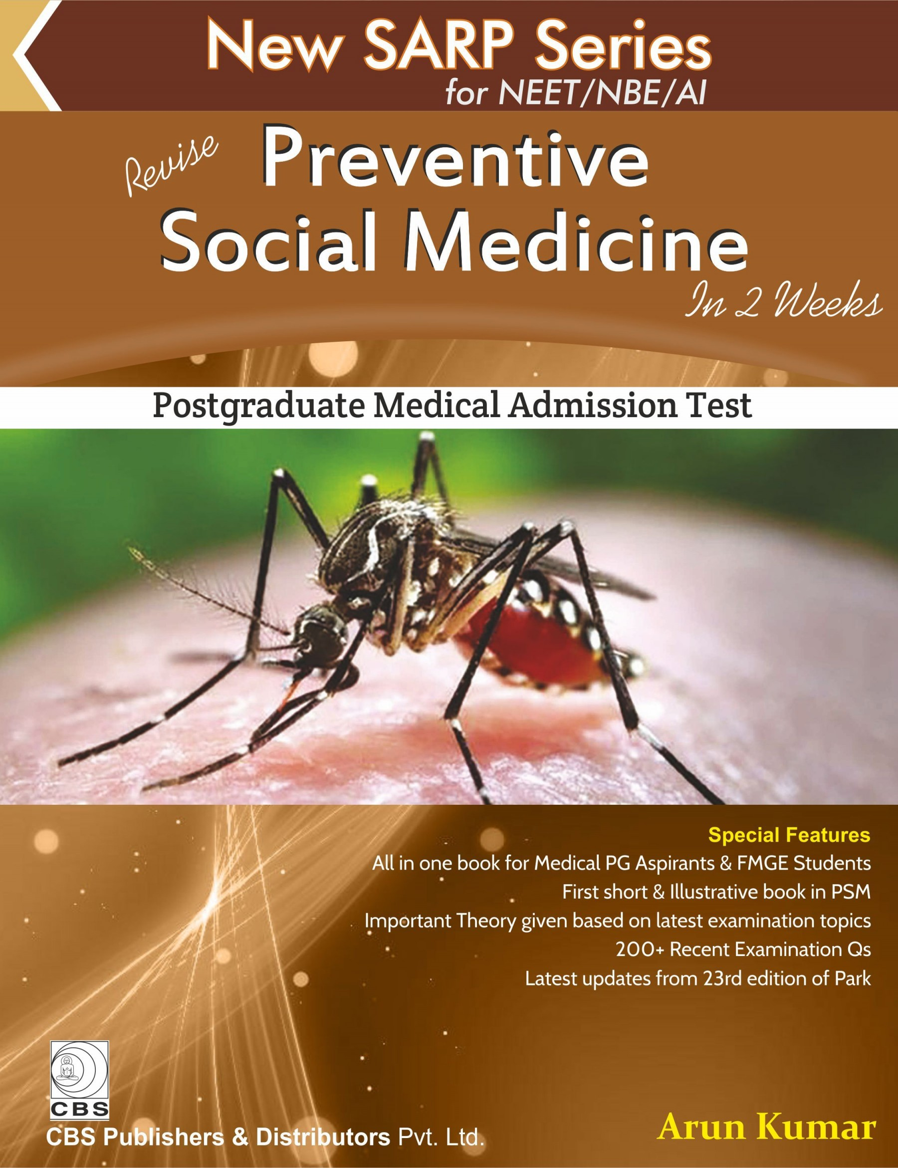Revise Preventive Social Medicine in 2 Weeks (New SARP Series for NEET/NBE/AI)
