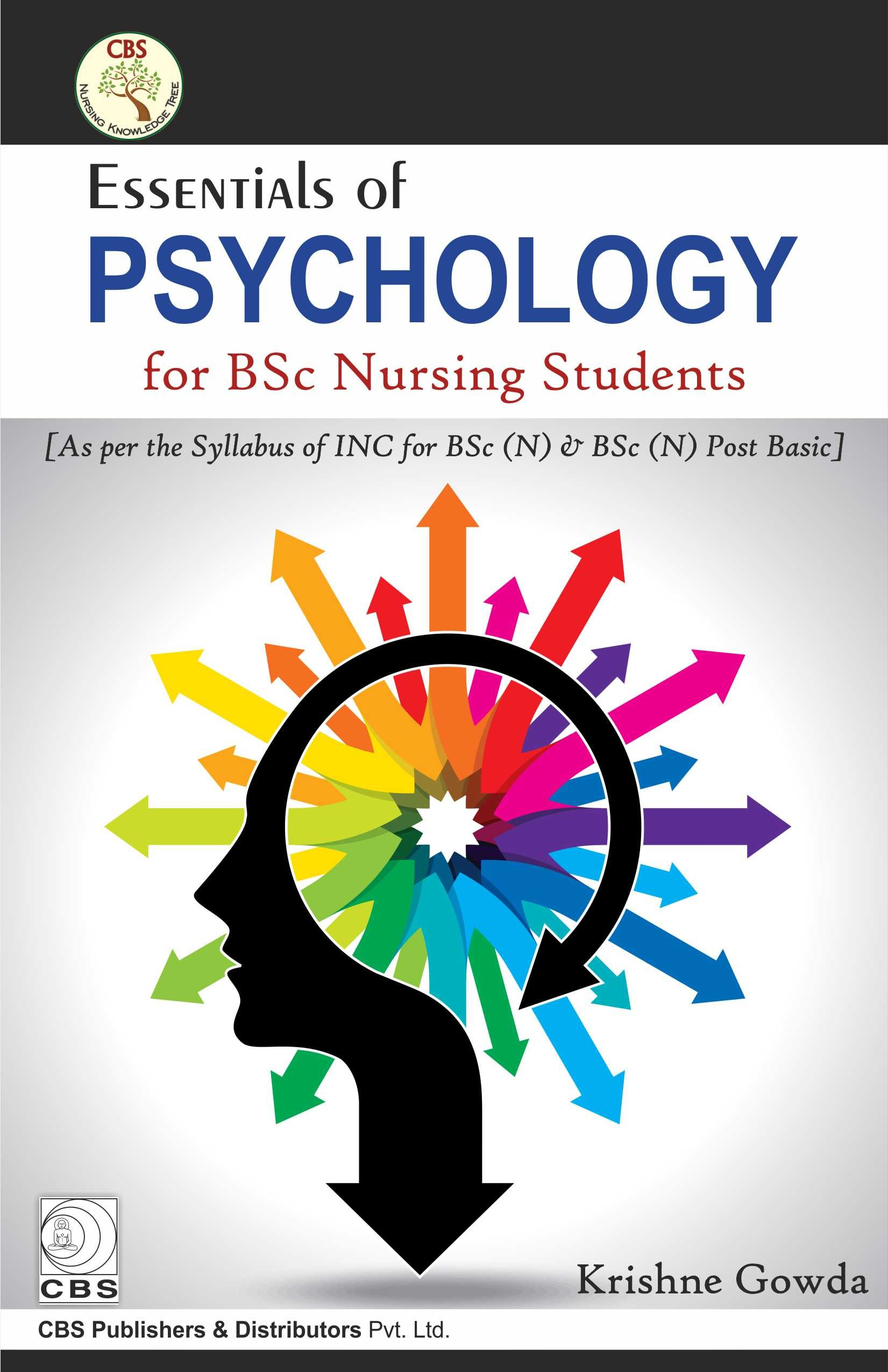 Essentials Of Psychology For Bsc Nursing Students (Pb 2017)