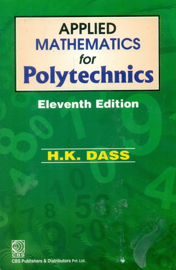 Applied Mathematics For Polytechnics 11Ed (Pb 2016)