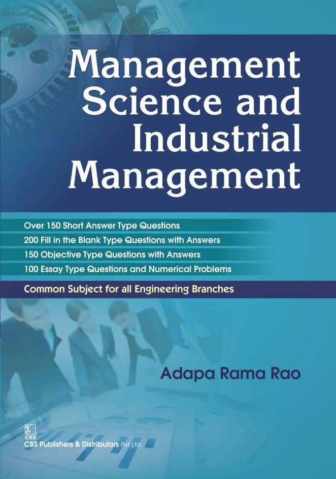 Management Science And Industrial Management (Pb 2016)