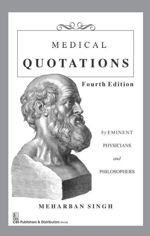 Medical Quotations 4Ed (Pb 2016)