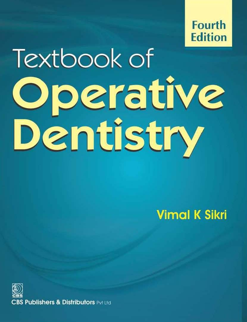 Textbook Of Operative Dentistry 4Ed (Pb 2016)