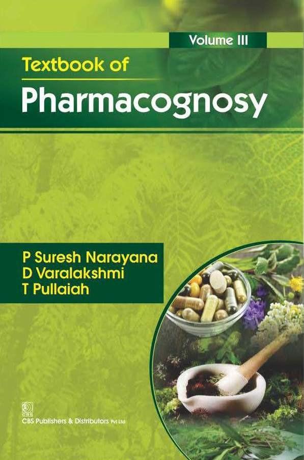 Textbook Of Pharmacognosy, Vol 3 (Pb 2016)