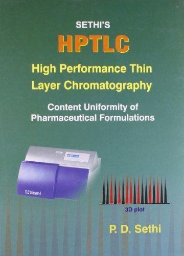 Hptlc: High Performance Thin Layer Chromatography