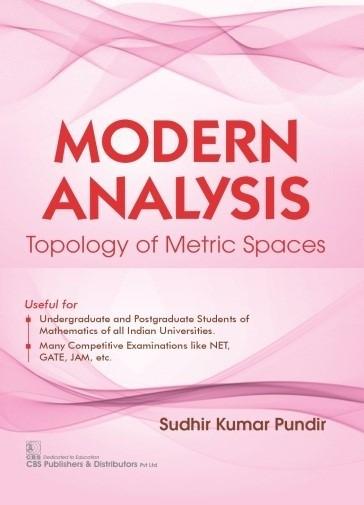 Modern Analysis Topology of Metric Spaces