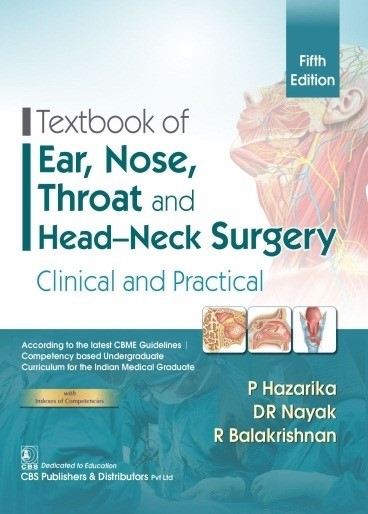 Textbook of Ear, Nose, Throat and Head-Neck Surgery