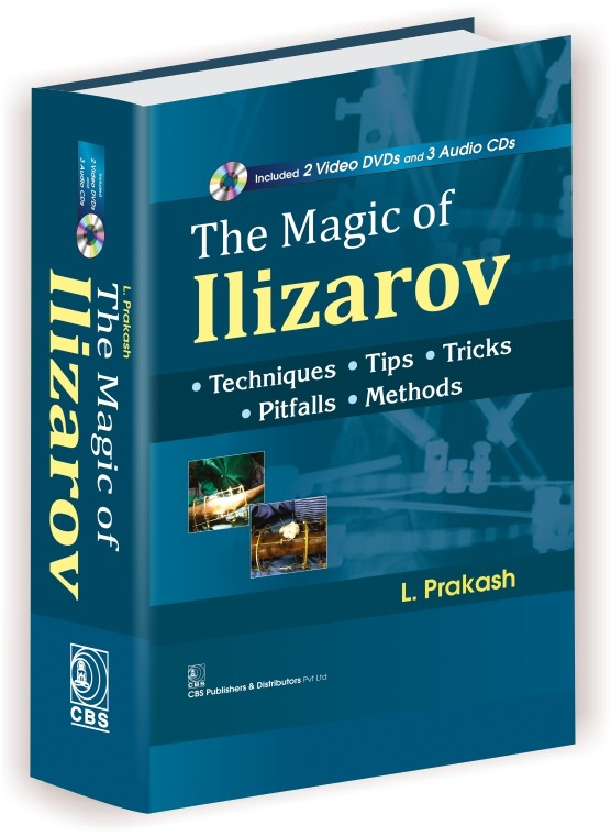 The Magic Of Ilizarov Included 2 Video Dvd And 3 Audio Cd (Hb 2017)