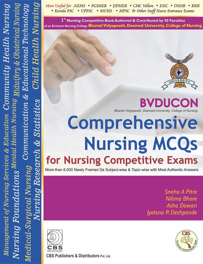 BVDUCON-Comprehensive Nursing MCQs for Nursing Competitive Exam