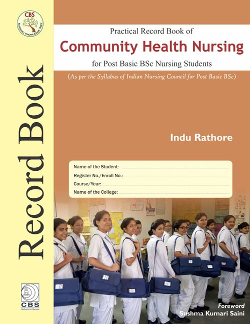 Practical Record book of Community Health Nursing For Post BSc Nursing Students