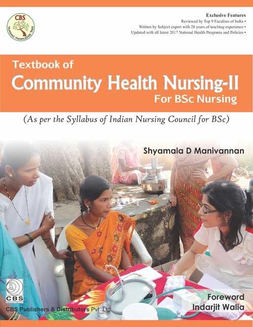 Textbook of Community Health Nursing – II for BSc Nursing