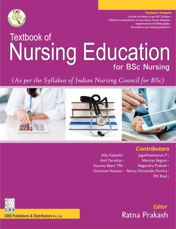 Textbook of Nursing Education for BSc Nursing