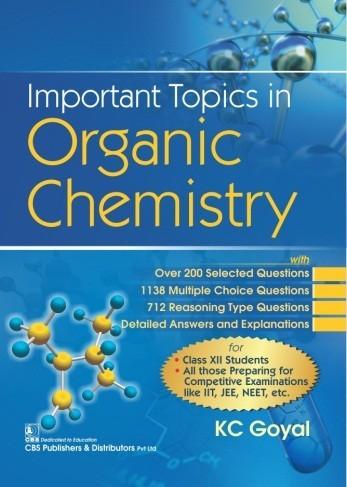 Important Topics in Organic Chemistry