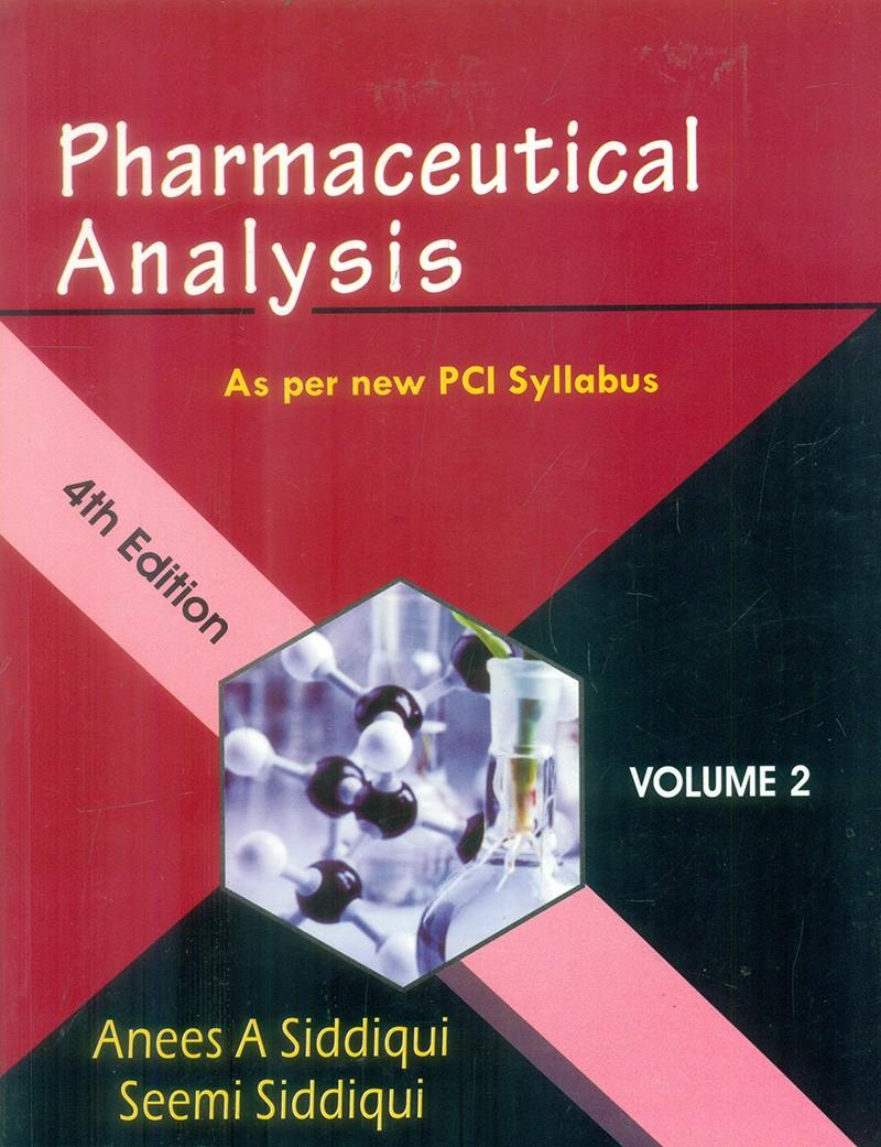 PHARMACEUTICAL ANALYSIS AS PER NEW PCI SYLLABUS VOL 2