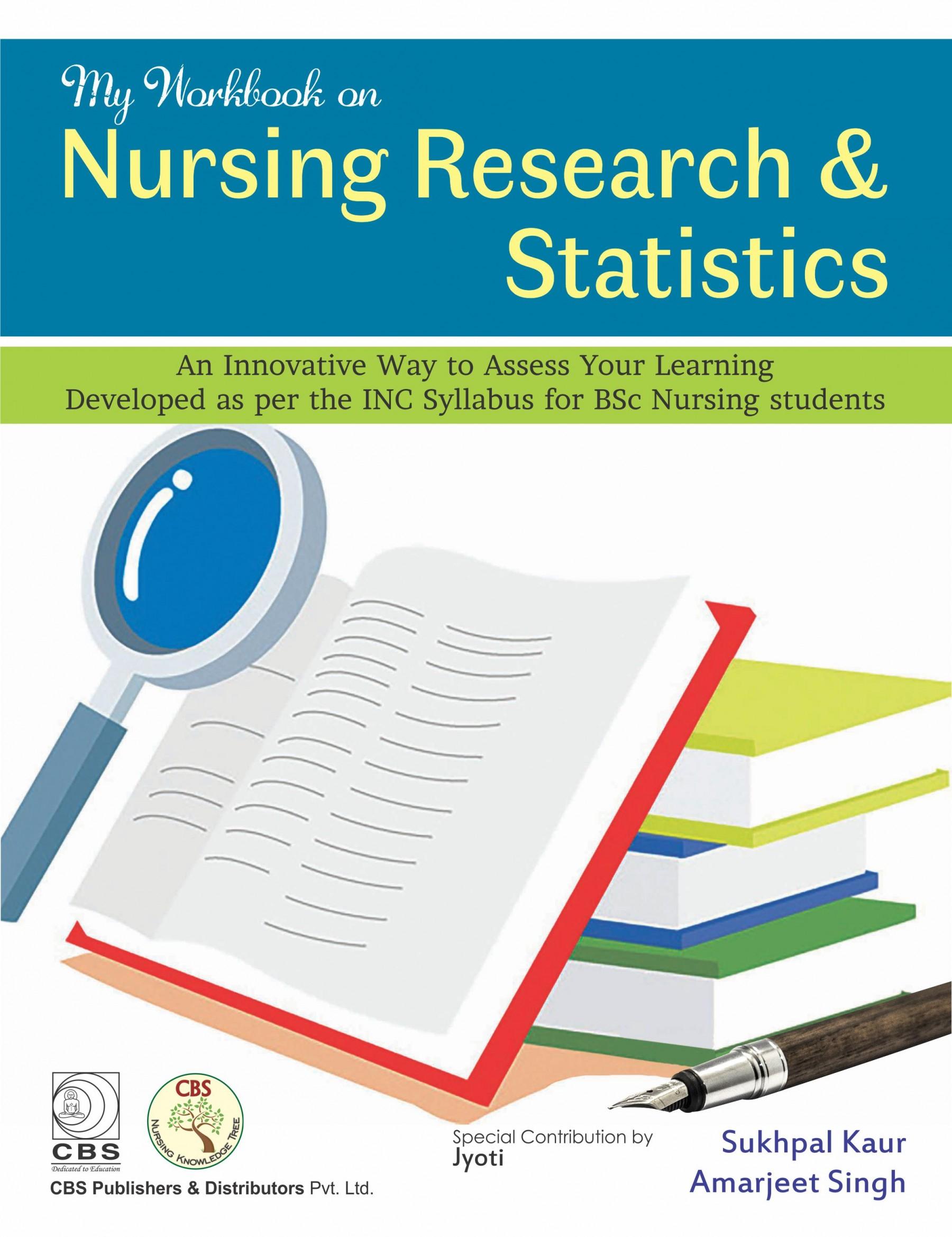 My Workbook on Nursing Research & Statistics