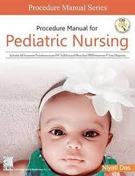 Procedure Manual for Pediatrics Nursing