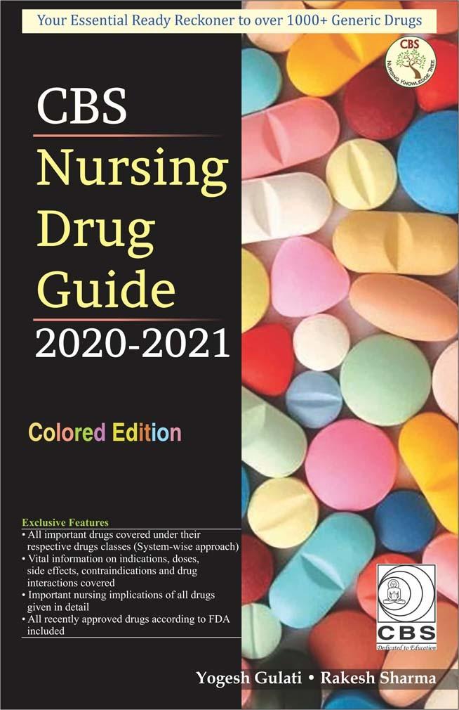 CBS Nursing Drug Guide 2020-21